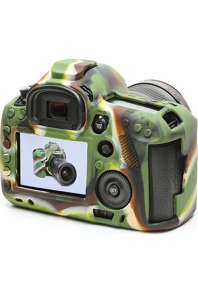 EasyCover Canon 5D Mark3 Silikon Kılıf+Ekran Koruyucu (Kamuflaj)