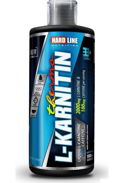 Hardline Nutrition Karnitin Thermo - Lcarnitine, Caffeine (Kafein) Sıvı 1000 Ml.