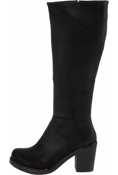 Fox Shoes Siyah Kadın Çizme E674250509
