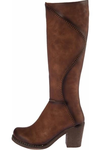 Fox Shoes Taba Kadın Çizme E674250509