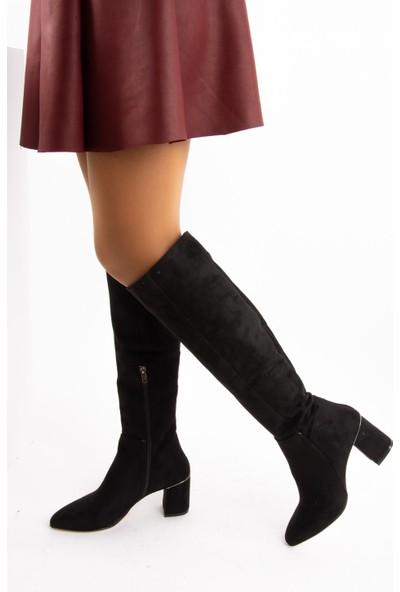 Fox Shoes Siyah Kadın Çizme E518011402