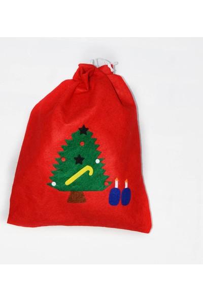 Cansüs Ca-Y005 Noel Torba Çuval Yılbaşı Süsü