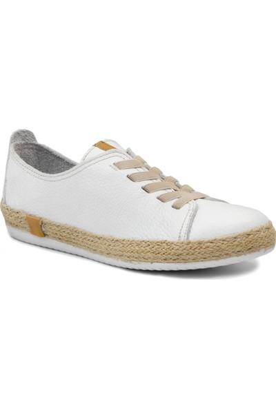 Freefoot 8Y 00110 Beyaz Casuel Kadın