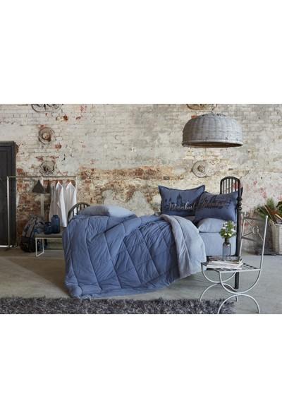 Karaca Home İstanbul İndigo Çift Kişilik Cotton Comfort Uyku Seti