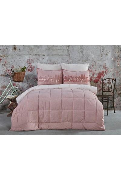 Karaca Home Paris Pudra Tek Kişilik Cotton Comfort Uyku Seti