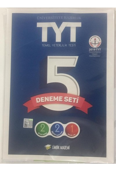 Limbik Akademi Tyt 5'Li Deneme Seti