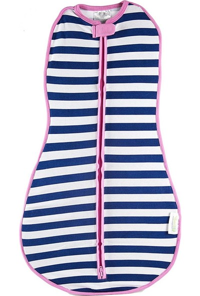 Woombie Kundak - Navy Stripe Girl