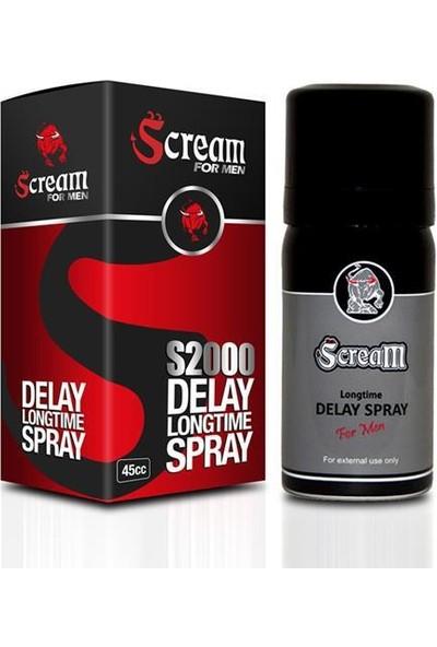 Scream S2000 Spray For Men´´
