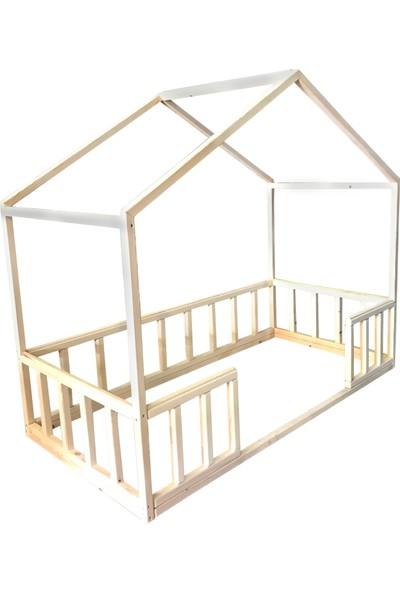 Masifahşap Montessori Yatak-Model 2