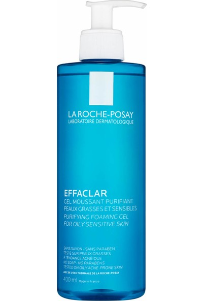 La Roche-Posay Effaclar Gel - Yağlı Ve Hassas Ciltler İçin Temizleyici Jel 400 ml