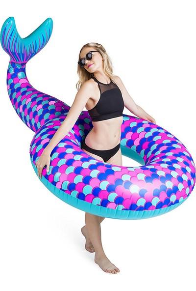 Big mouht Şişme Simit Mermaid Tail Bmpf-Mt