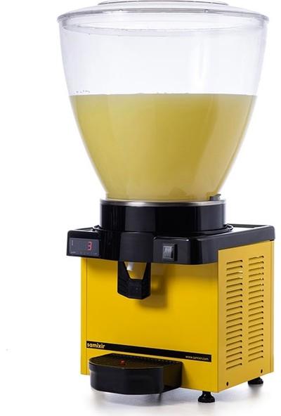 Samixir M40 Soğuk İçecek Dispenseri, 40 L, Dijital, Panaromik, Sarı