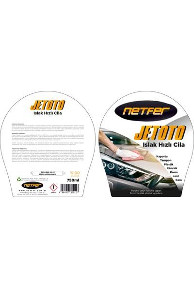 Netfer Jetoto Islak Hızlı Cila - 750ml