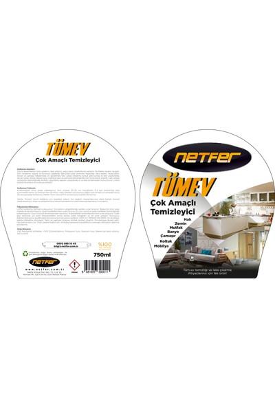 Netfer Tümev Çok Amaçlı Temizleyici ve Leke Çıkarıcı - 750ml