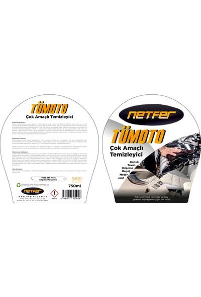 Netfer Tümoto Çok Amaçlı Temizleyici ve Leke Çıkarıcı - 750ml