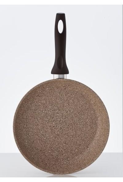 Falez Creamy Granit 24 Cm Tava