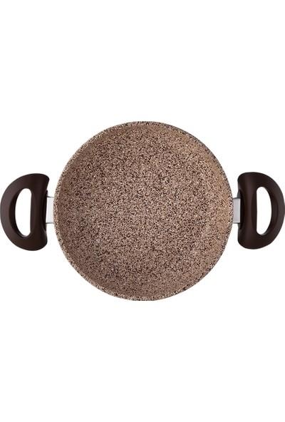 Falez Creamy Granit 22 Cm Sahan