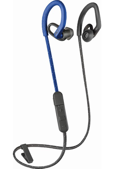 Plantronics Backbeat FIT 350 Ter/Su Geçirmez Kablosuz Spor Kulaklık Gri/Mavi