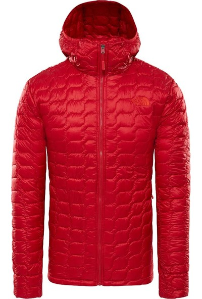 The North Face Thermoball Hooded Insulated Erkek Mont Kırmızı
