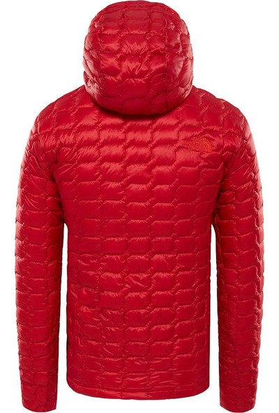 The North Face Thermoball Hooded Insulated Erkek Mont Kırmızı