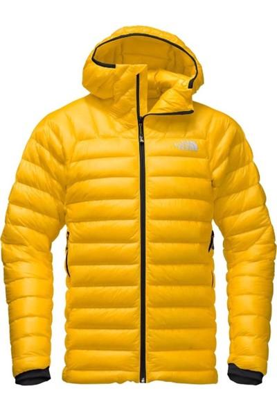 The North Face Summit L3 Down Hoodie Erkek Mont Sarı
