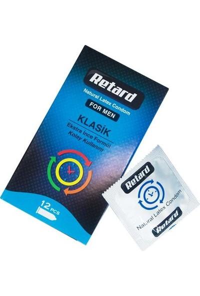 Retard Ekstra İnce 12´li Prezervatif