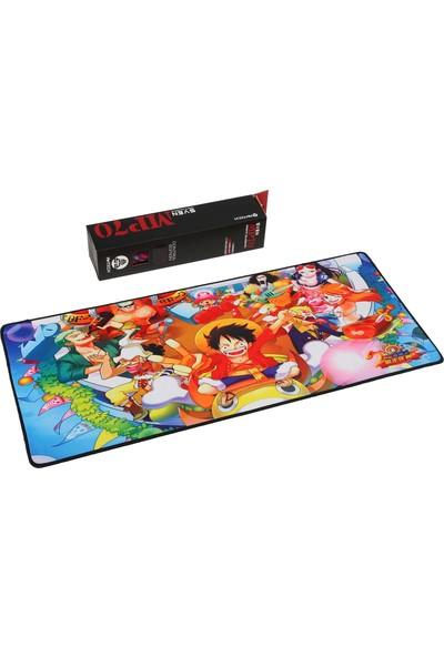 Gaming Oyuncu mousepad Oyuncu 70*30 3mm XL Boy ONEPİECE Gemi Tayfası Modeli