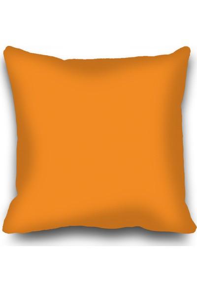 Kozzy Home RFE348 Dekoratif Kırlent Kılıfı 45x45 cm Orange