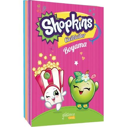 Shopkins Cicibiciler Lisanslı Boyama Kitapları 5 Kitap Fiyatı