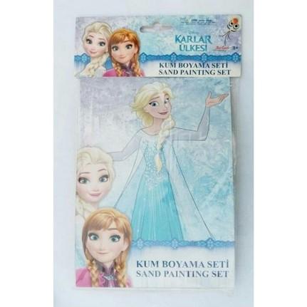 Partinisec Karlar ülkesi Elsa Frozen Kum Boyama Seti Fiyatı