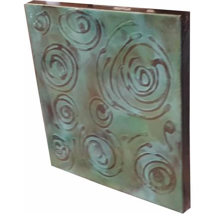 Oyks Kanvas Tablo Yağlı Boya Geometrik Desen 40 X 40 Fiyatı