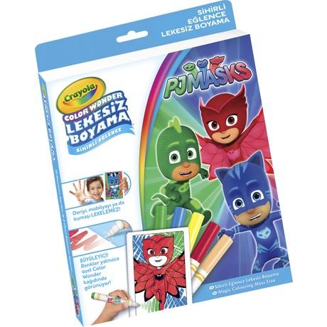 Crayola Color Wonder Lekesiz Boyama Pijamaskeliler Fiyati