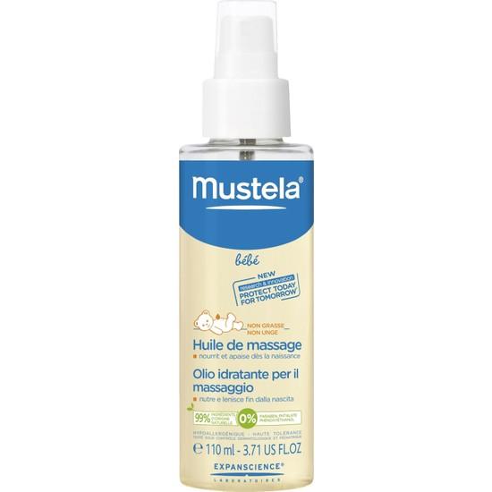 MUSTELA Massage Oil 110 ml - Nemlendirici & Rahatlatıcı Masaj Yağı