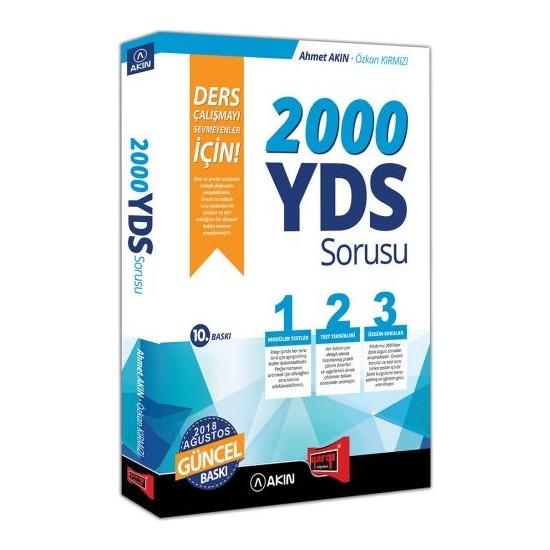 Akın Dil & Yargı Yayınevi 2000 YDS Sorusu Ders Çalışmayı Sevmeyenler İçin