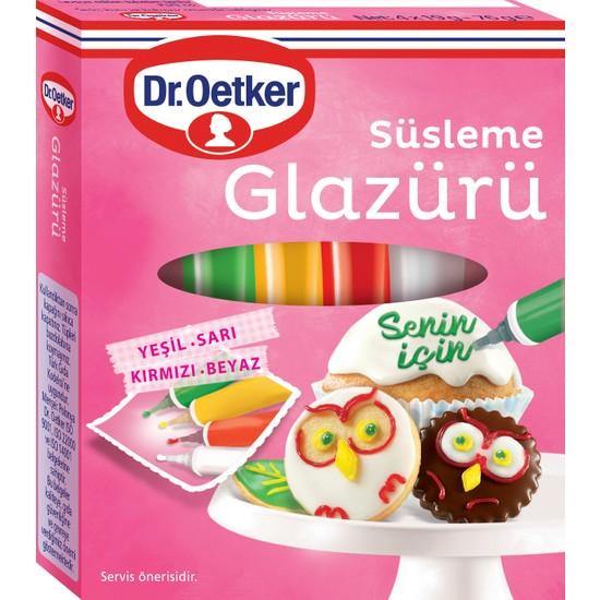 Dr. Oetker Süsleme Glazürü 76 gr