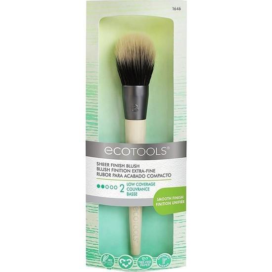 Ecotools Sheer Finish Blush Brush Allık Fırçası