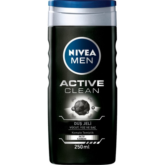 Nivea Active Clean Duş Jeli 250Ml Erkek