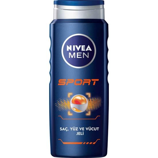 Nivea Sport Duş Jeli 500 ml Erkek