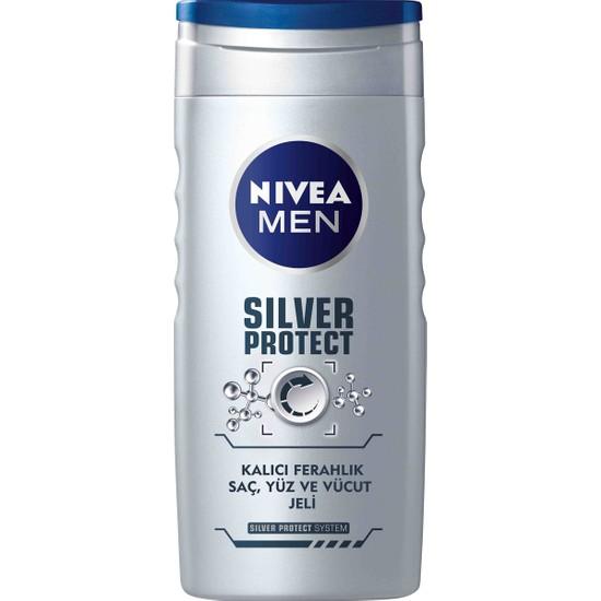 Nivea Silver Protect Duş Jeli 250Ml Erkek