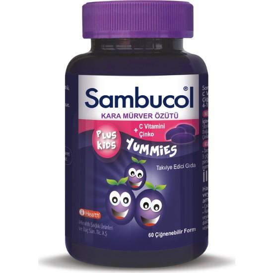 Sambucol Plus Kids Yummies 60 Tablet