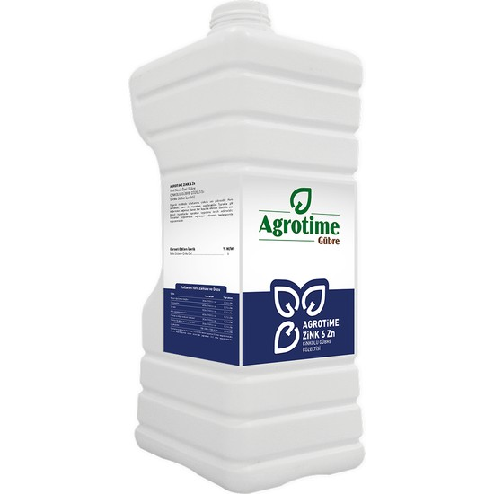 Agrotime Zink 6 Zn 5 Litre