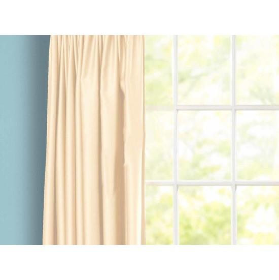 Evsa Home Lüx Saten Krem Güneşlik - 560x150 cm