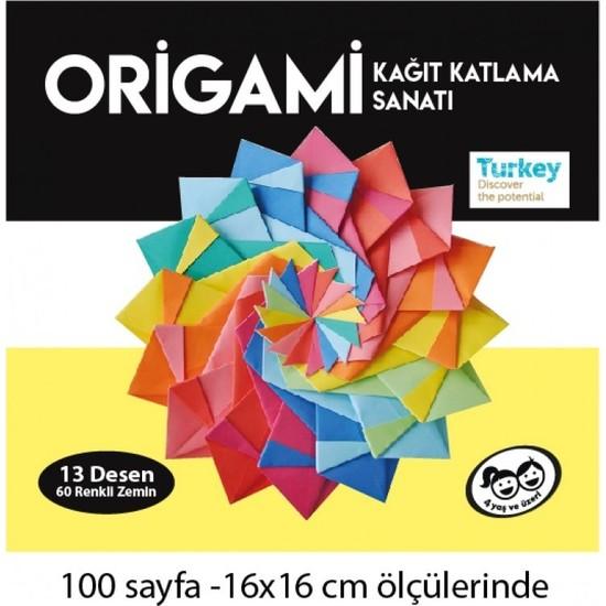 Kumtoys Origami Kağıt Kıvırma Sanatı