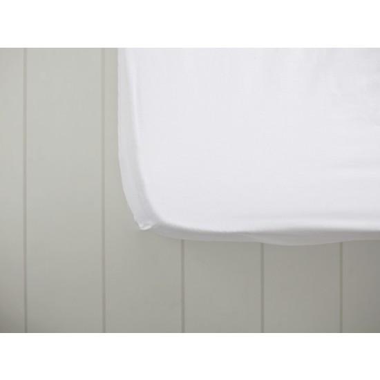 English Home Düz 2 Pamuklu Çift Kişilik Lastikli Çarşaf 160x200 Cm Kırık Beyaz