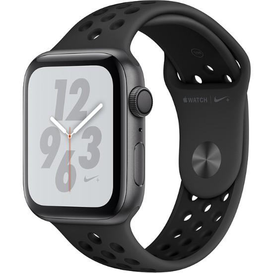 Apple Watch Seri 4 Nike+ 40mm GPS Uzay Grisi Aluminyum Kasa ve Antrasit/Siyah Nike Spor Kordon - (MU6J2TU/A)