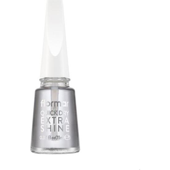 Flormar Quick Dry Extra Shine Redesign - Oje Kurutucu Cila 11 ml