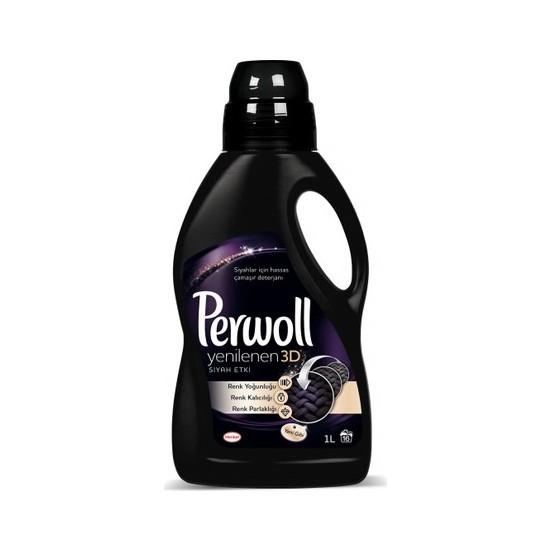 Perwoll Sıvı Deterjan Yenilenen Siyah Etki 1 Lt