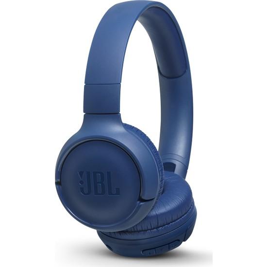 JBL T500BT Mikrofonlu Kulaküstü Kablosuz Mavi Kulaklık