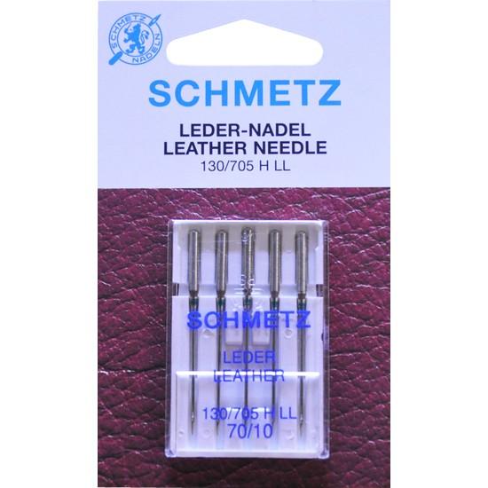 Schmetz 10 Numara Ev Tipi Dikiş Makine Deri İğnesi