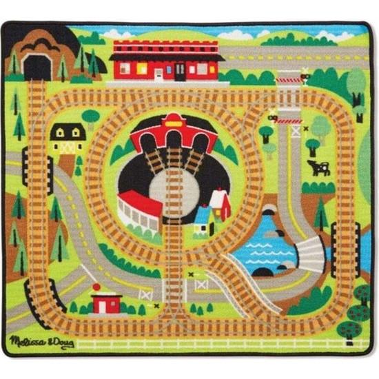 Melissa&Doug Oyun Halı Seti - Tren